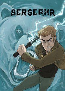 La copertina del fumetto di Berserkr