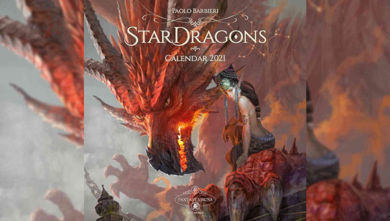 Stardragons, il calendario di Paolo Barbieri
