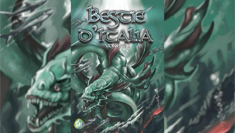 Bestie d'Italia, una delle 5 antologie di fantasy e fantastico consigliate