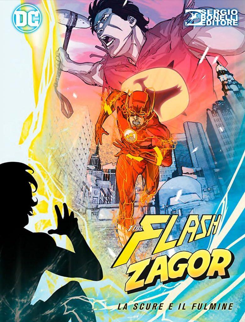 La Scure e il Fulmine, Cover Flash