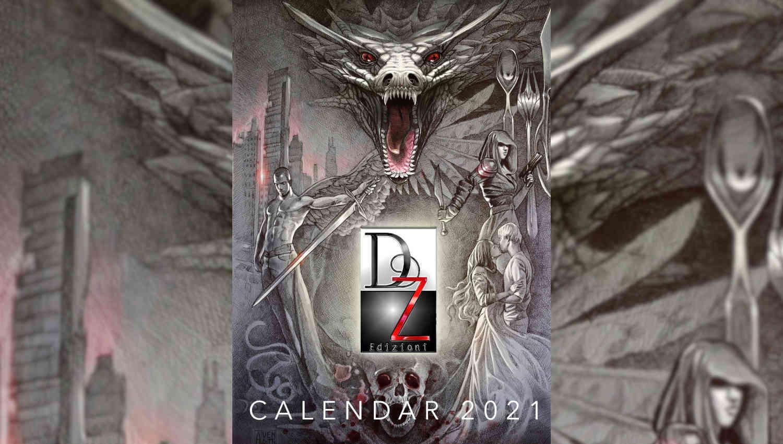 Oscuri, il calendario di DZ Edizioni