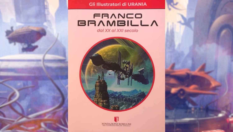 La cover del libro dedicato a Franco Brambilla