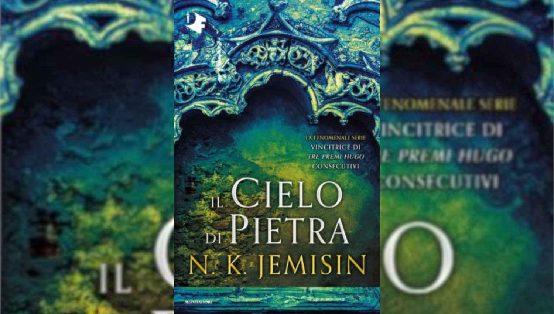 La cover de Il cielo di pietra tra le novità di gennaio di Oscar Mondadori