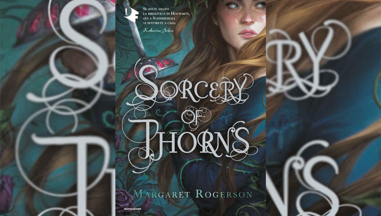 La cover de Sorcery of thorns