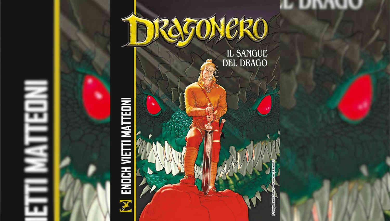 La copertina di Dragonero Il sangue del drago