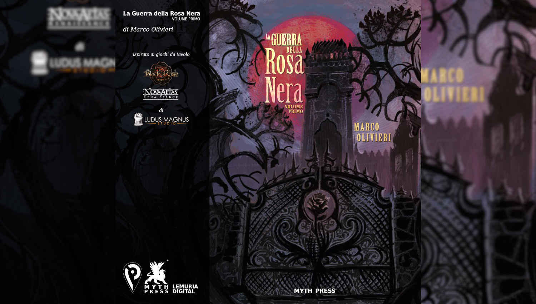 La copertina de La Guerra della Rosa Nera