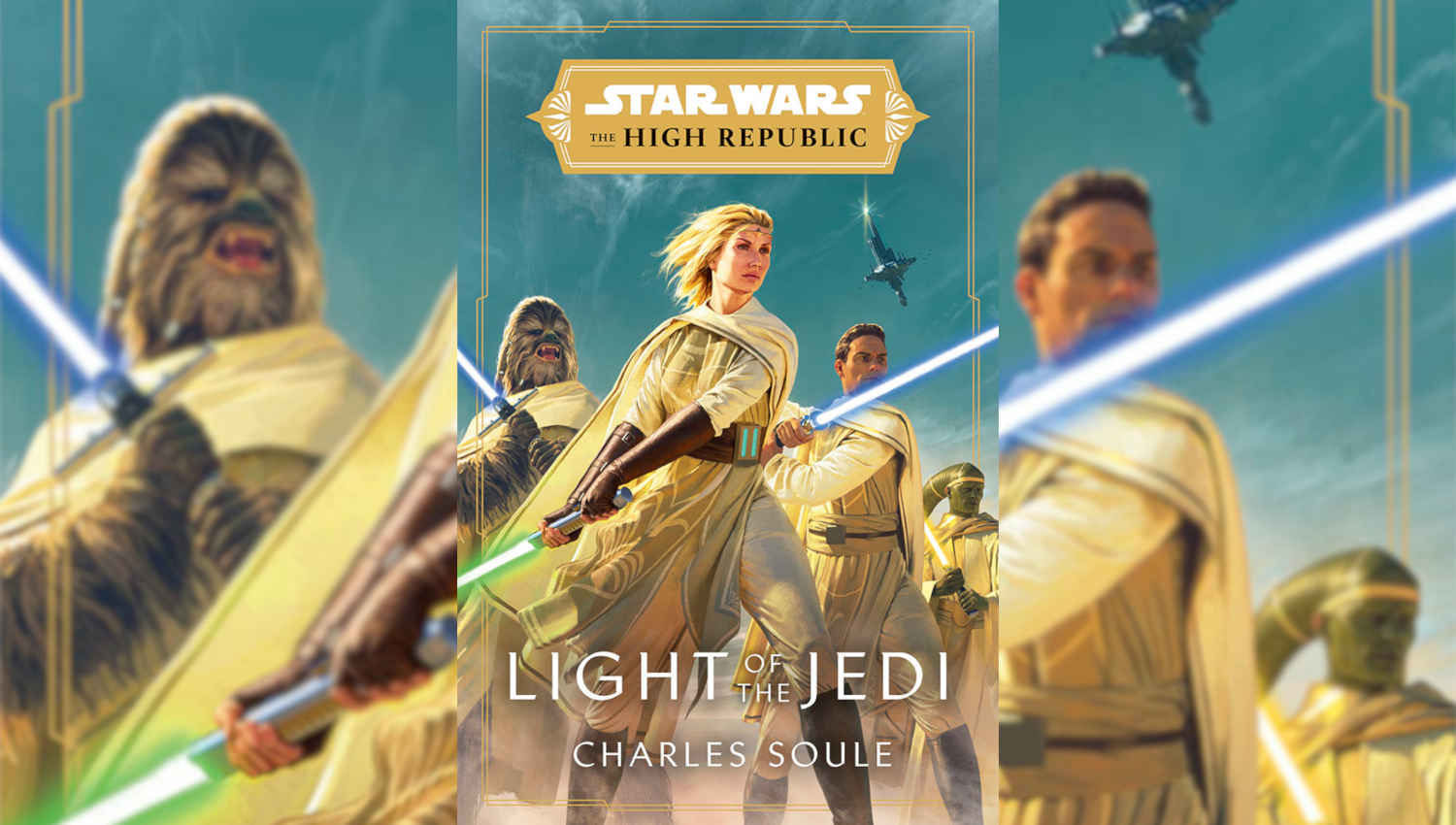 La copertina del primo volume di Star Wars: The High Republic