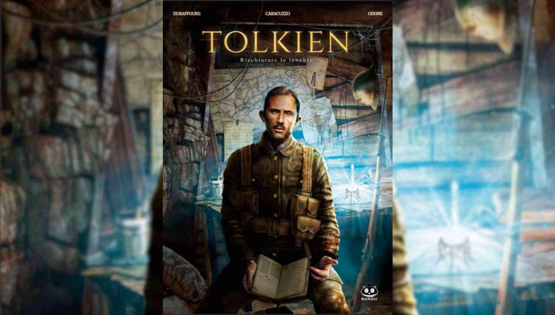 La copertina di Tolkien – Rischiarare le tenebre