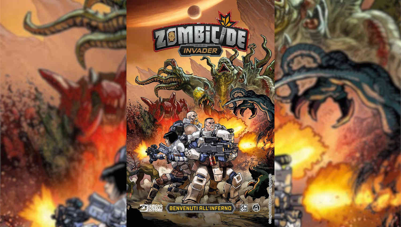 La copertina di Zombicide Invader