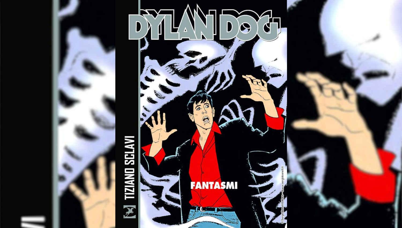 La cover di Dylan Dog Fantasmi