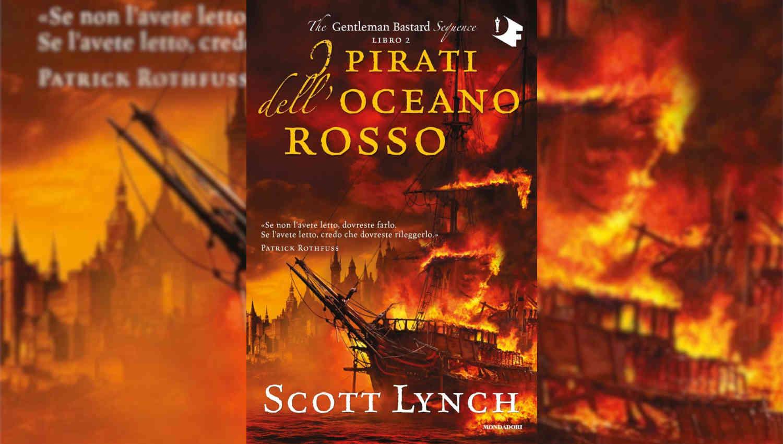 La storia di Locke Lamora continua nel secondo romanzo della saga The Gentleman Bastard: I pirati dell'oceano rosso.