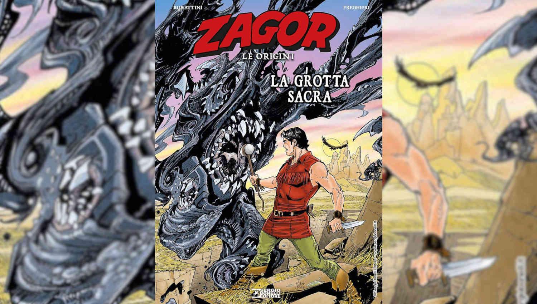 Zagor Le origini – La grotta sacra