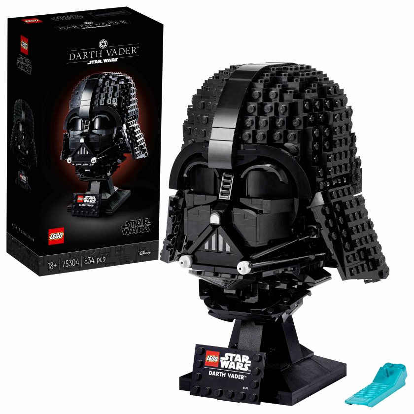 Lego Star Wars: il busto di Darth Vader