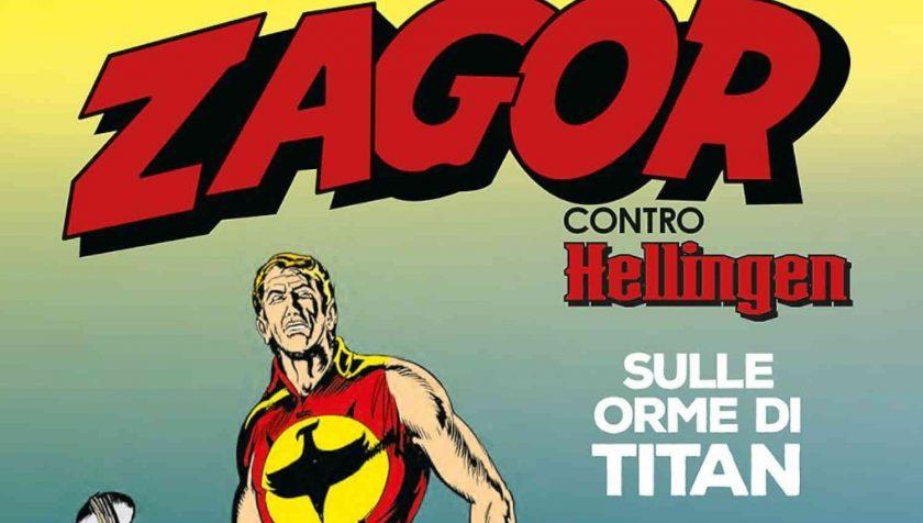 Zagor contro Hellingen. Sulle orme di Titan