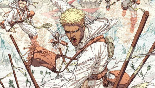 Sabbia Bianca. Un graphic novel del Cosmoverso di Brandon Sanderson