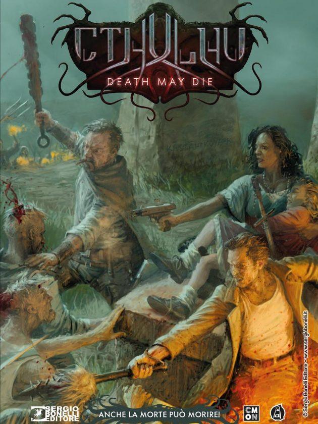 La cover variant di Cthulhu Death May Die. Anche la morte può morire