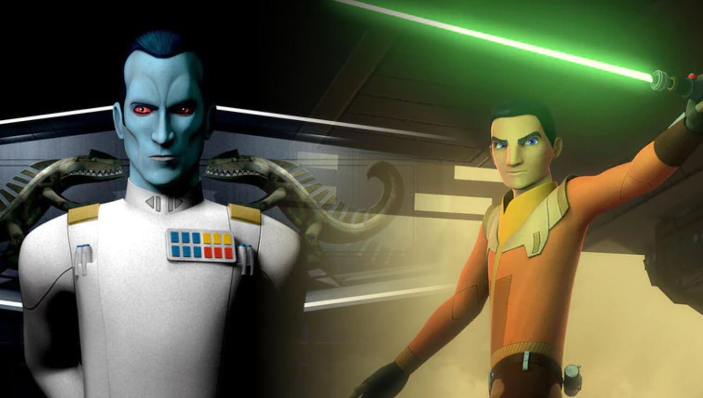 Star Wars: Ezra Bridger, Thrawn