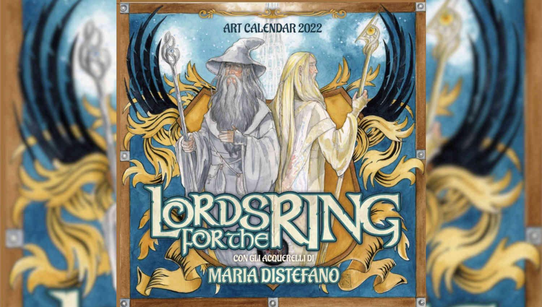 Maria Distefano è l'artista che illustrerà il Calendario Lords for the Ring 2022