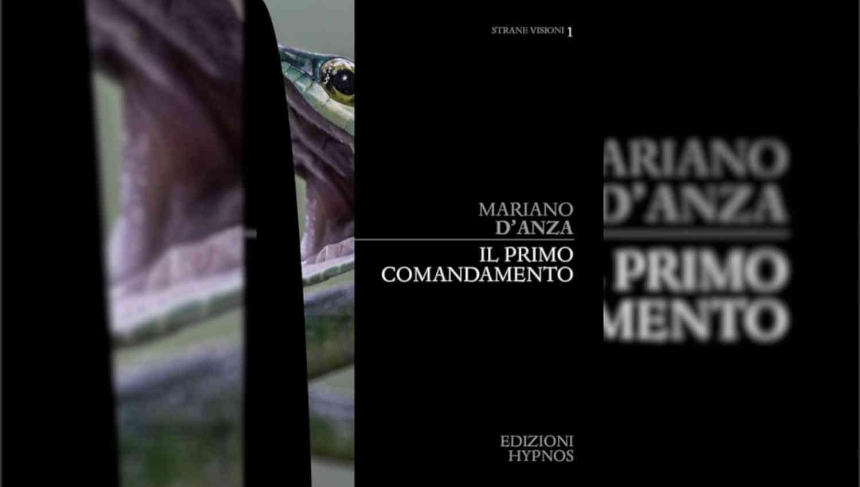 La copertina de Il primo comandamento di Mariano D'Anza, primo numero di Strane Visioni Digital