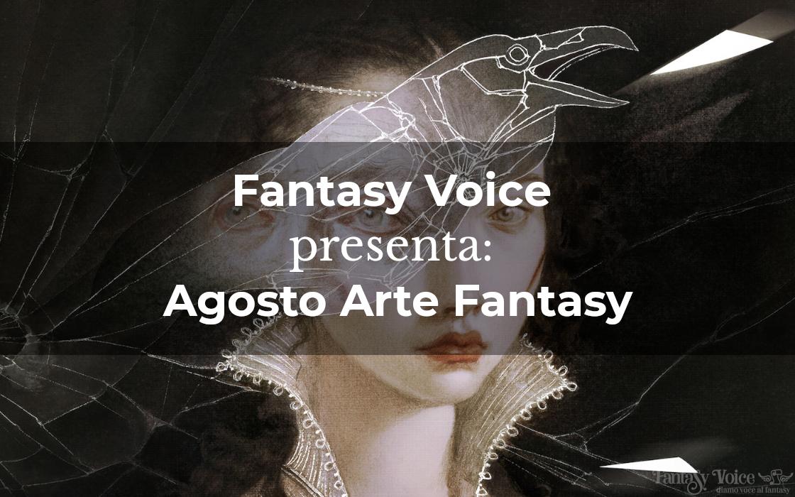 Fantasy Voice presenta Agosto Arte Fantasy. Particolare di Audrey Benjaminsen, Triquetra, Cover Spectrum 26 (Fonte: ArtStation.com)